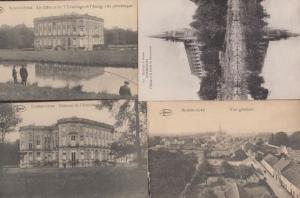 Bonsecours Fishing 4x Antique French Postcard s