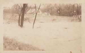 RP: PROCTOR, Vermont , 1910s ; Bridge over flooded river