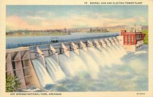 AR, Hot Springs National Park, Arkansas, Remmel Dam, Electric Power Plant