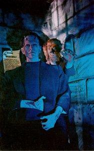 Florida St Petersburg Beach London Wax Museum Frankenstein and Wolf Man