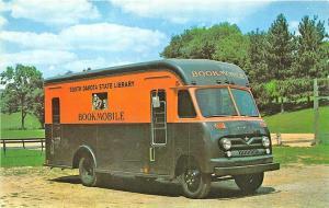 South Dakota State Library Bookmobile Ford Truck Postcard