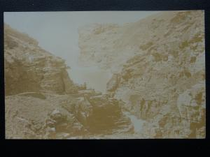 Cornwall TINTAGEL Rocky Valley - Old RP Postcard by Photochrom Co.