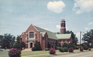 Callie Self Memorial Church & Carillon , GREENWOOD , South Carolina , 50-60s
