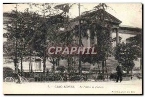 Old Postcard Courthouse Carcassonne