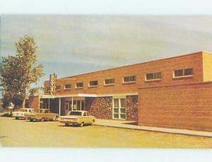 Unused Pre-1980 OLD CARS & ASSINIBOIA MOTEL Assiniboia SK n9636