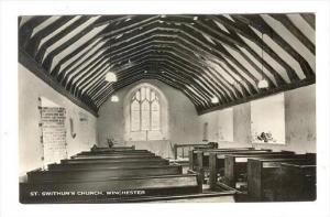 RP, Interior, St. Swithun's Church, Winchester (Hampshire), England, UK, 1920...