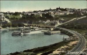 Lavender Bay Sydney Australia c1910 Postcard