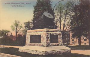 Motar Monument Near Capitol, Hartford, Connecticut, 00-10´s