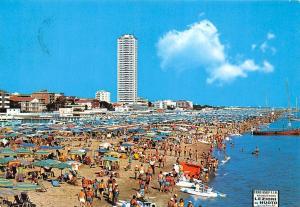 Italy Cesenatico The large Beach La grande Spiaggia Hotel General view