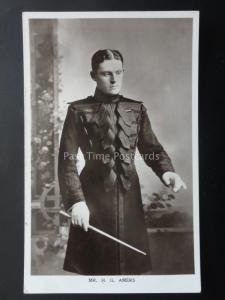 MR H. G. AMERS Conductor & Composer c1906 RP Postcard by Brighton Marine Palace