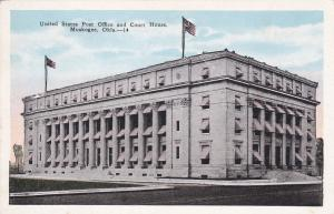 MUSKOGEE , Oklahoma, 1900-1910's; U.S. Post Office & Court House