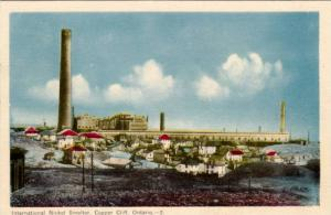 International Nickel Smelter, Copper Cliff, Ontario, Canada, 1910-1920s