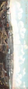 E83/ Steubenville Ohio Postcard c1910 DOUBLE 2-Panel  La Belle Iron Factory 27