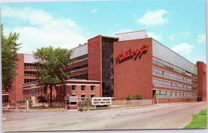 Kellogg's Battle Creek Michigan plant postcard
