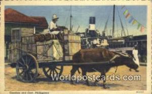 Philippines, Pilipinas Carabao & Cart Carabao & Cart