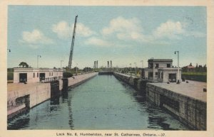 HUMBERSTON , Ontario, 1939 ; Lock No. 9