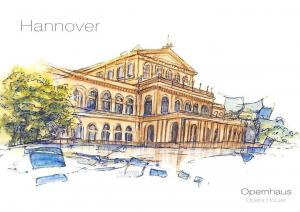 Hannover Opernhaus Opera House