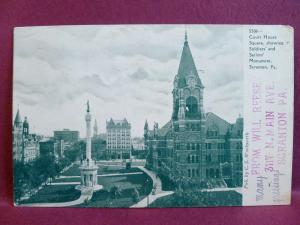 Old Postcard 1906 Scranton PA