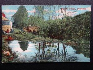 Cornwall PENZANCE Buryas Bridge - Old Postcard by E.S. London 4192