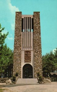 Rindge, NH, Bell Tower, Cathedral of the Pines, 1969 Vintage Postcard g8497