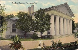 Arlington VA, Custis - Lee Mansion, Civil War Interest, 1914, National Cemetery