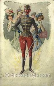 Krampus, Devil, Postcard Post Cards