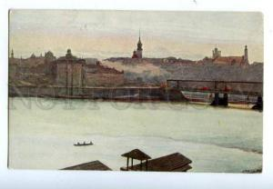 138253 Poland WARSAW View from Praga by PIOTROWSKI Vintage PC