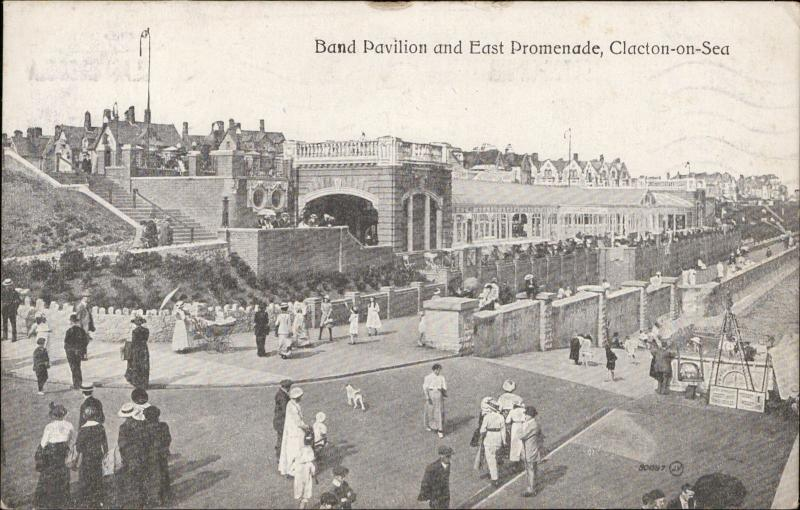 Clacton-on-Sea Band Pavilion East Promenade UK