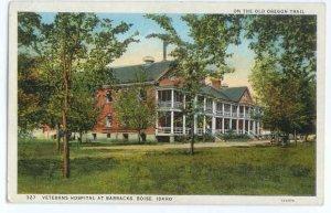 Veterans Hospital at Barracks Boise Idaho ID, White Border