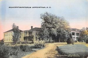 Morgantown North Carolina Broadoak Sanatarium Exterior Antique Postcard K16871