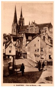 France Chartres  Rue du Bourg
