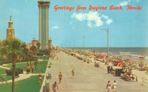 Greetings from Daytona Beach, Florida 1950s-1960s unused ...