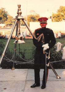 Postcard The President's Bodyguard of India 1995, The Second in Command PH5-2