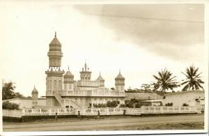 ivory coast, BOUAKE BWAKE, Gonfreville Mosque (1930s) RPPC (2)
