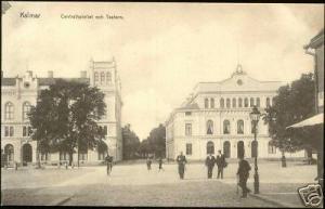 sweden, KALMAR, Centralhotellet och Tratern Theatre 10s