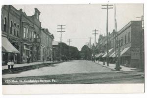Main St. Easton PA
