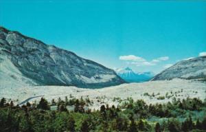Canada Famous Frank Rock Slide THat Destroyed Frank Alberta
