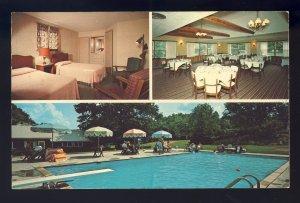 Voluntown, Connecticut/CT/Conn Postcard, Tamarack Lodge, Multi-View
