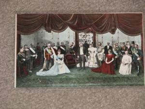 Rulers of the World,  Group at Eden Muse, N.Y. unused vintage card