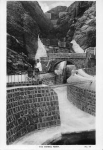 Yemen Aden The Tanks Postcard