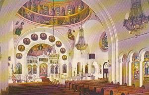 Florida Tarpon Springs Interior Saint Nicholas Greek Orthodox Church