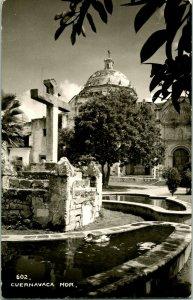 Vtg Postcard RPPC 1940s EKC Sello - Cuernavaca Morelos Mexico