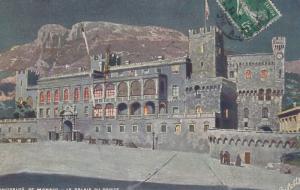 PRINCIPAUTE DE MONACO , Le Palais Du Prince, 1919 ; TUCK 763 No.18