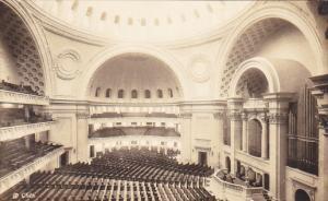 Massachusetts Boston Interior First Church Of Christ Scientist Real Photo