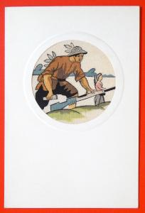 450035 VIETNAM WAR Partisan Guerrilla w/ Gun Military Ethnic VTG postcard 1960s