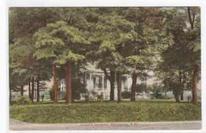 Ursuline Academy Middletown New York 1908 postcard