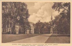 New Hampshire Hanover Russell Sage Hall Natural Science Building And Baker Li...