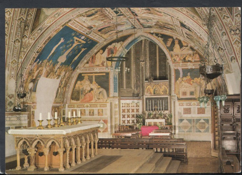 Italy Postcard- Assisi - Basilica of St Francis     RR6032
