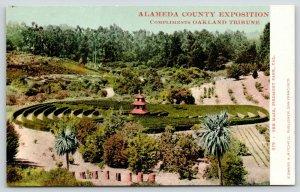 Piedmont Park CA~Alameda County Exposition~Garden Maze~c1905 Oakland Tribune PC