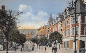 Wales Colwyn Bay, Mochdre, Station Road, Imperial 1913